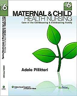 Portada del libro 9781582559995 Maternal and Child Health Nursing