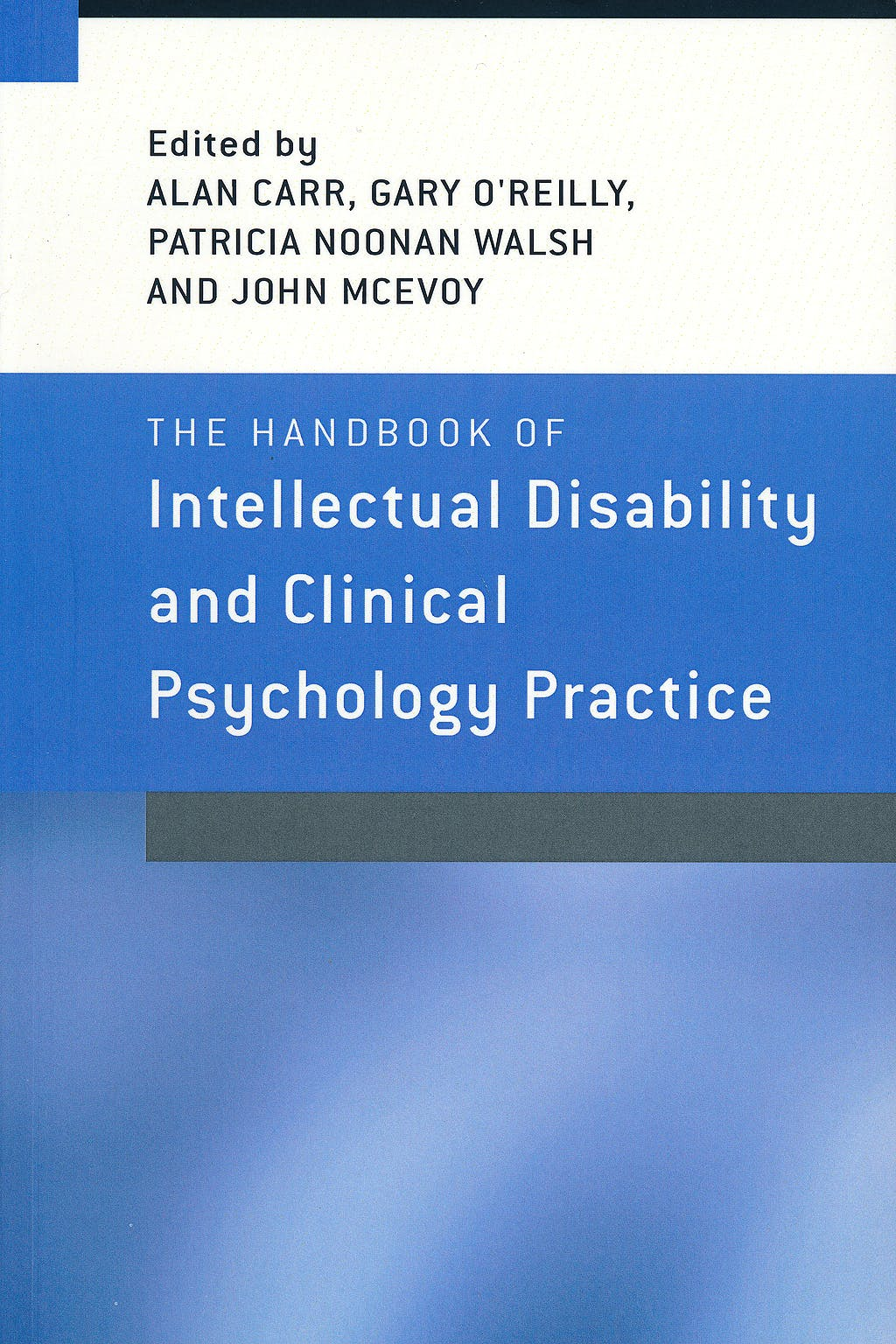 Portada del libro 9781583918623 The Handbook of Intellectual Disability and Clinical Psychology Practice
