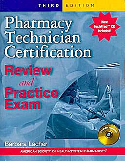 Portada del libro 9781585282081 Pharmacy Technician Certification Review & Practice Exam