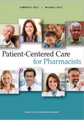 Portada del libro 9781585282524 Patient-Centered Care for Pharmacists
