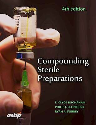 Portada del libro 9781585284849 Compounding Sterile Preparations