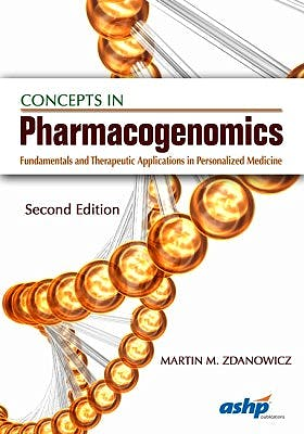 Portada del libro 9781585285167 Concepts in Pharmacogenomics