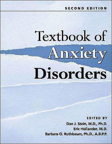 Portada del libro 9781585622542 Textbook of Anxiety Disorders