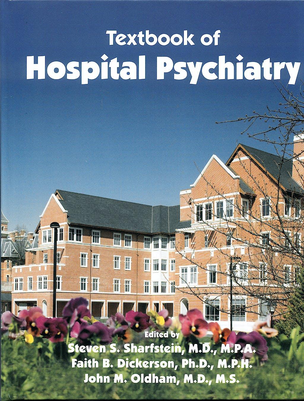 Portada del libro 9781585623228 Textbook of Hospital Psychiatry