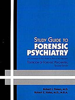 Portada del libro 9781585623914 Study Guide to Forensic Psychiatry. a Companion to the American Psychiatric Publishing Textbook of Forensic Psychiatry