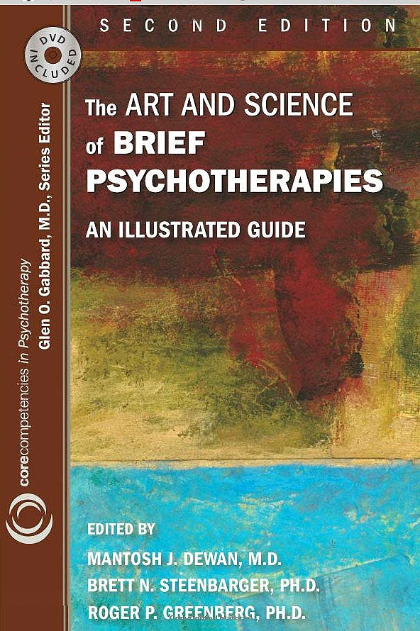 Portada del libro 9781585623969 The Art and Science of Brief Psychotherapies: An Illustrated Guide + Dvd