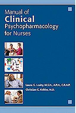 Portada del libro 9781585624348 Manual of Clinical Psychopharmacology for Nurses