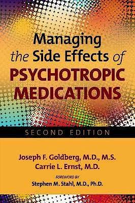 Portada del libro 9781585624881 Managing the Side Effects of Psychotropic Medications