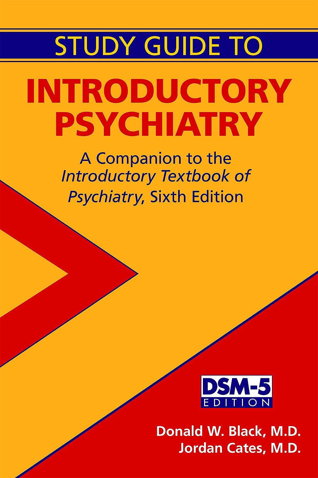 Portada del libro 9781585625109 Introductory Psychiatry. a Companion to the Introductory Textbook of Psychiatry