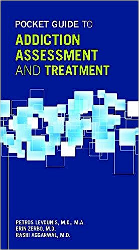 Portada del libro 9781585625123 Pocket Guide to Addiction Assessment and Treatment