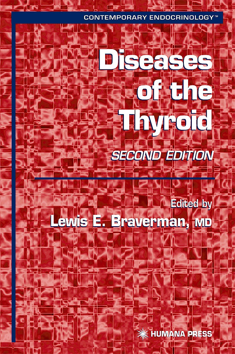 Portada del libro 9781588291769 Diseases of the Thyroid (Hardback)