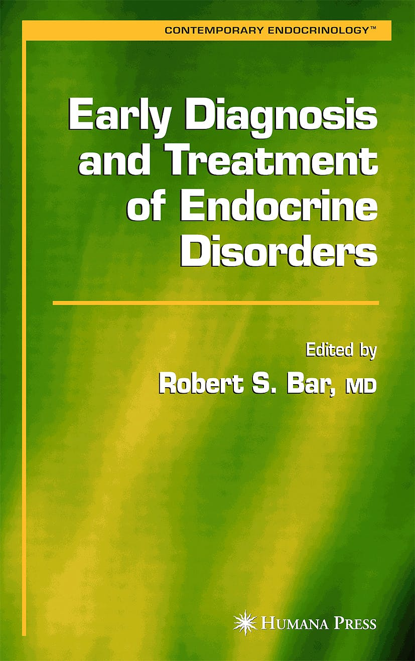 Portada del libro 9781588291936 Early Diagnosis and Treatment of Endocrine Disorders
