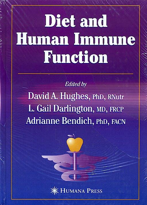 Portada del libro 9781588292063 Diet and Human Immune Function
