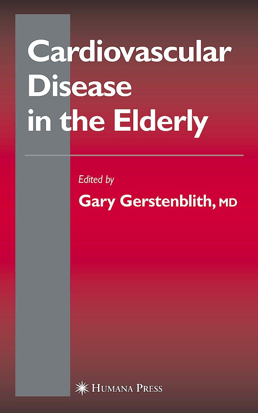 Portada del libro 9781588292827 Cardiovascular Disease in the Elderly (Hardcover) (Contemporary Cardiology)