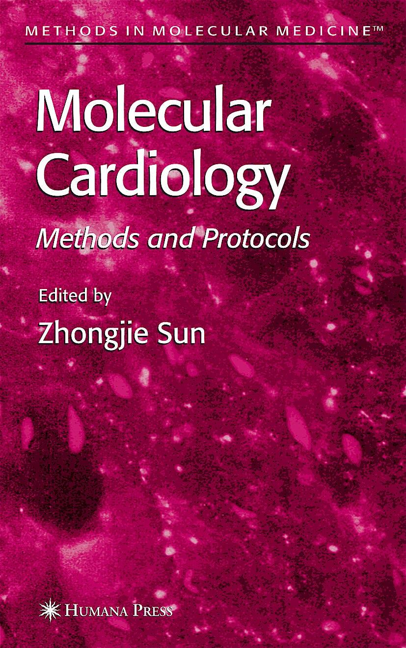 Portada del libro 9781588293633 Molecular Cardiology. Methods and Protocols
