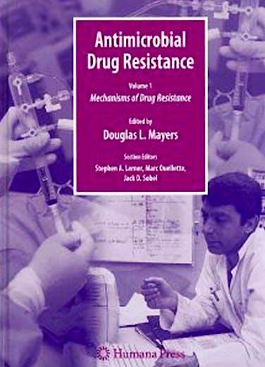 Portada del libro 9781588294050 Antimicrobial Drug Resistance Handbook ( 2 Vols. Set)