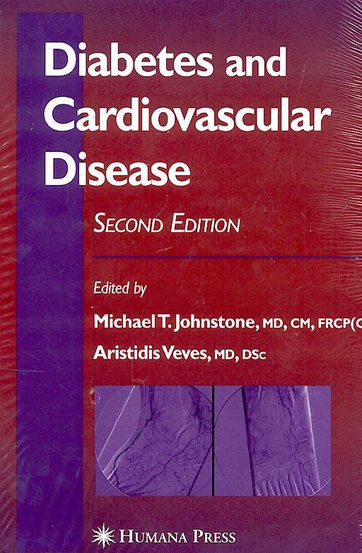 Portada del libro 9781588294135 Diabetes and Cardiovascular Disease