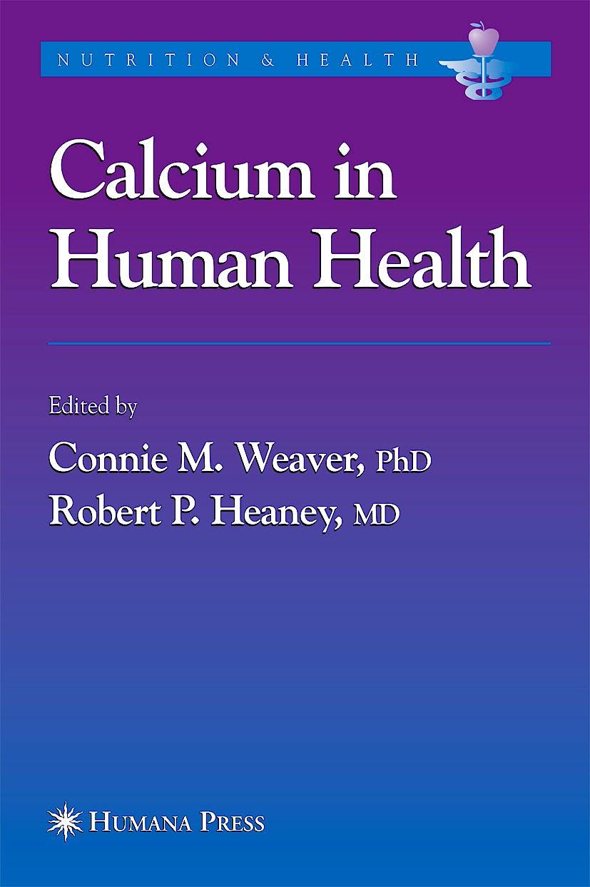 Portada del libro 9781588294524 Calcium in Human Health