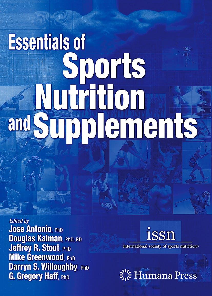 Portada del libro 9781588296115 Essentials of Sports Nutrition and Supplements