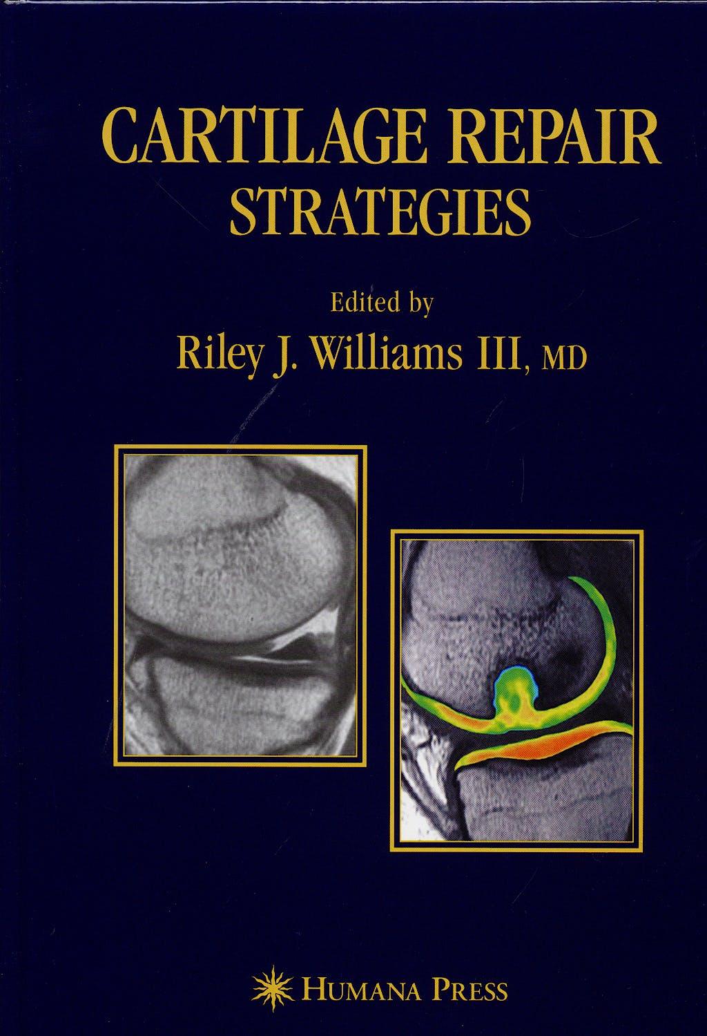 Portada del libro 9781588296290 Cartilage Repair Strategies