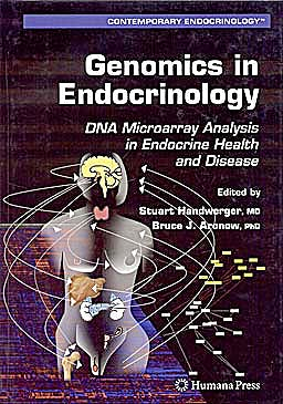 Portada del libro 9781588296511 Genomics in Endocrinology: Dna Microarray Analysis in Endocrine Health and Disease