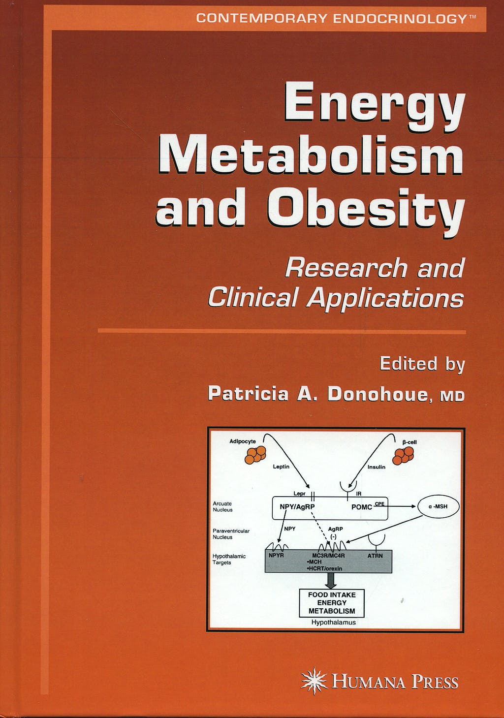 Portada del libro 9781588296719 Contemporary Endocrinology: Energy Metabolism and Obesity