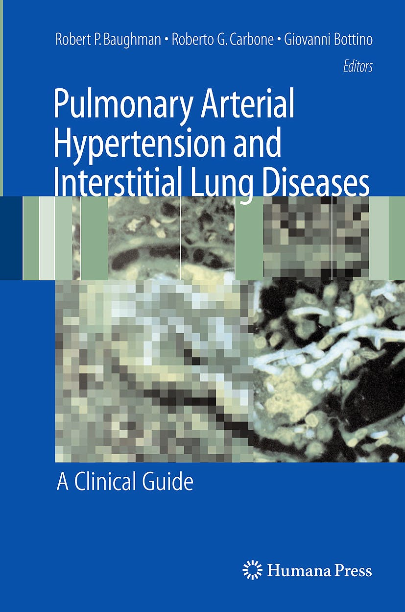 Portada del libro 9781588296955 Pulmonary Arterial Hypertension and Interstitial Lung Diseases. a Clinical Guide