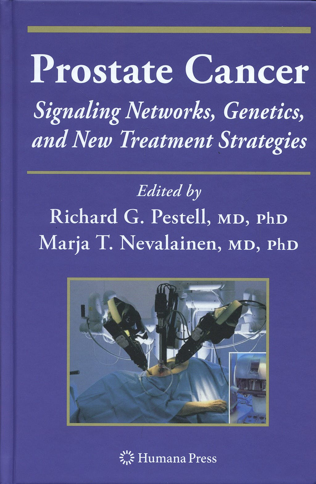 Portada del libro 9781588297419 Prostate Cancer. Signaling Networks, Genetics, and New Treatment Strategies