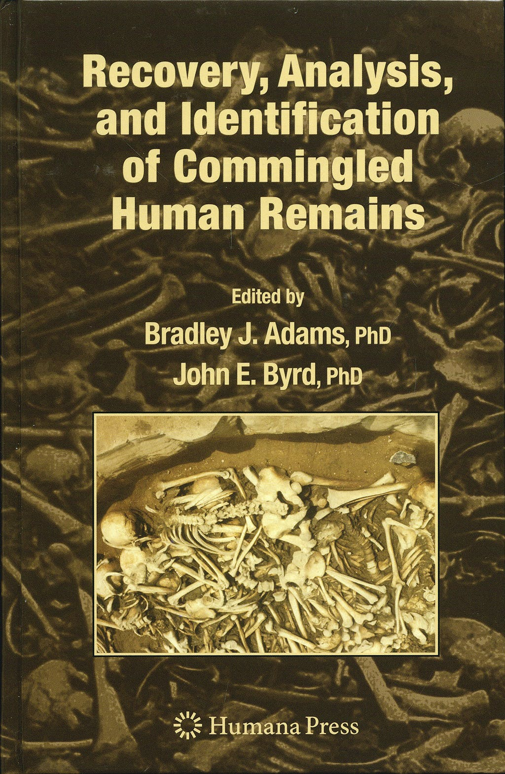 Portada del libro 9781588297693 Recovery, Analysis, and Identification of Commingled Human Remains