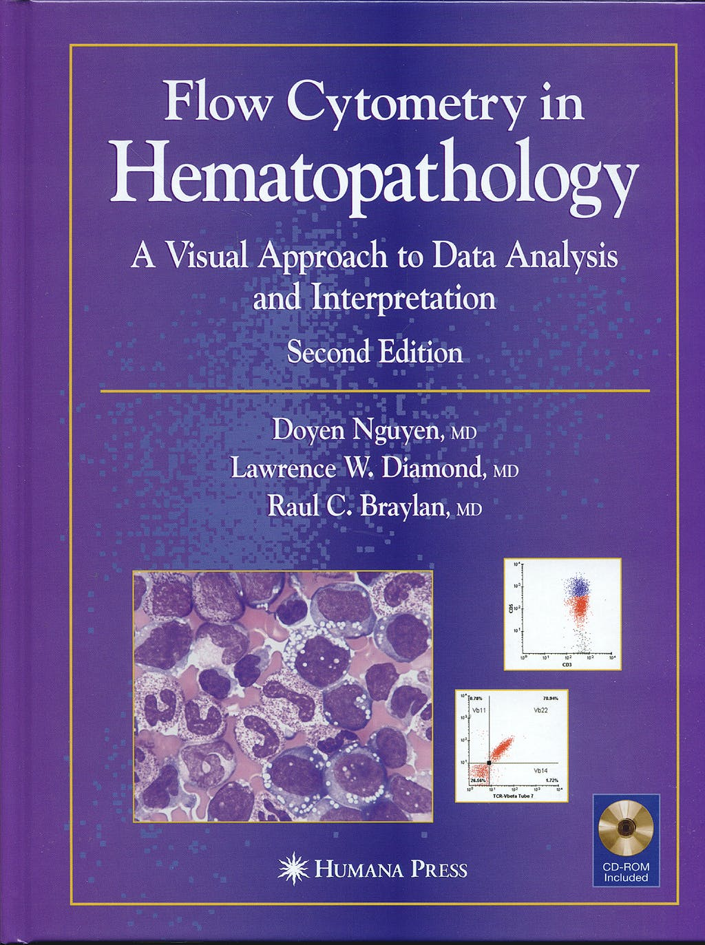Portada del libro 9781588298553 Flow Cytometry in Hematopathology. a Visual Approach to Data Analysis and Interpretation