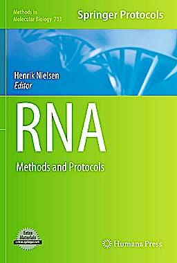 Portada del libro 9781588299130 Rna. Methods and Protocols + Online Access (Methods in Molecular Biology, Vol. 703)