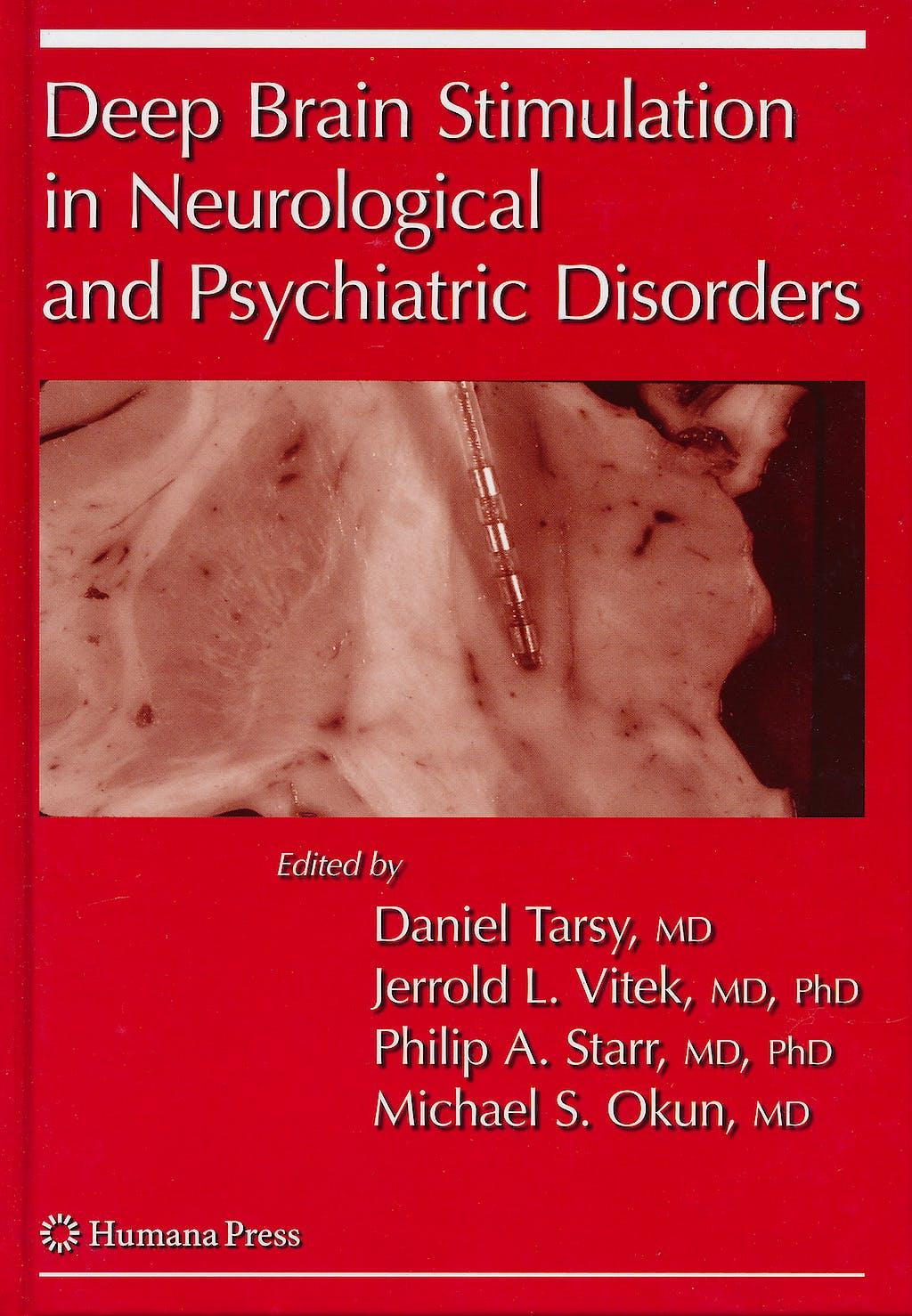 Portada del libro 9781588299529 Deep Brain Stimulation in Neurological and Psychiatric Disorders
