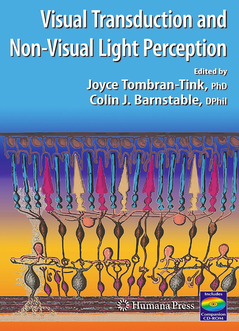 Portada del libro 9781588299574 The Visual Transduction and Non-Visual Light Perception