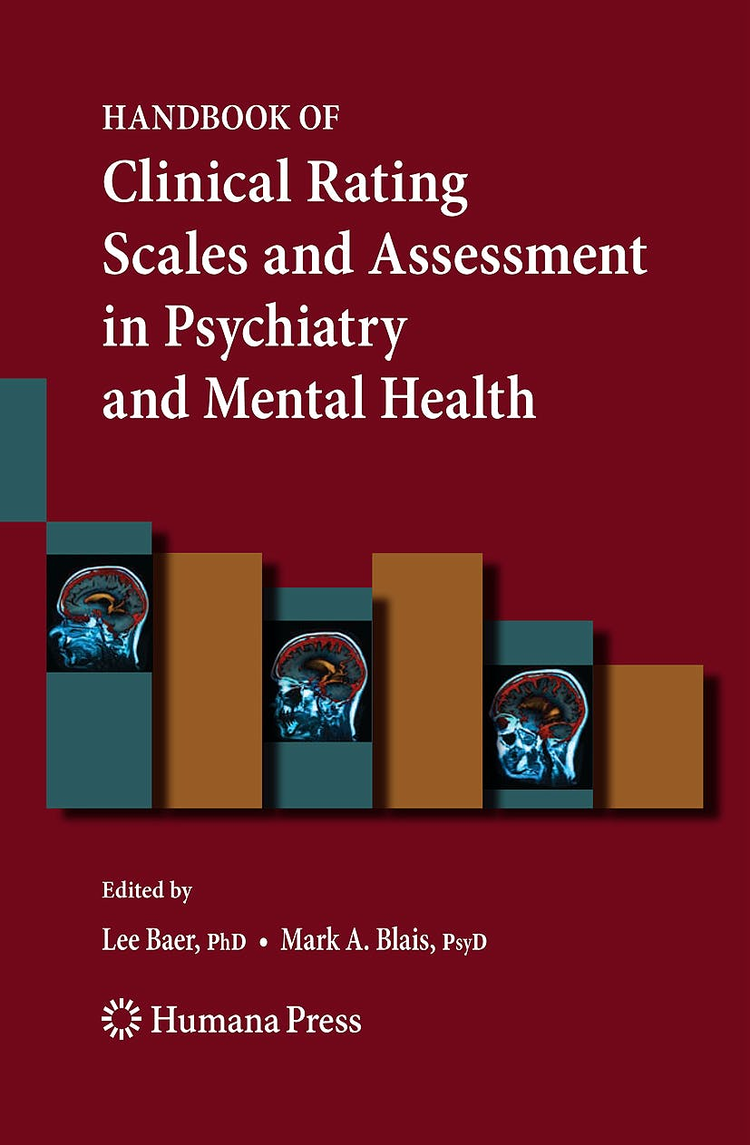 Portada del libro 9781588299666 Handbook of Clinical Rating Scales and Assessment in Psychiatry and Mental Health