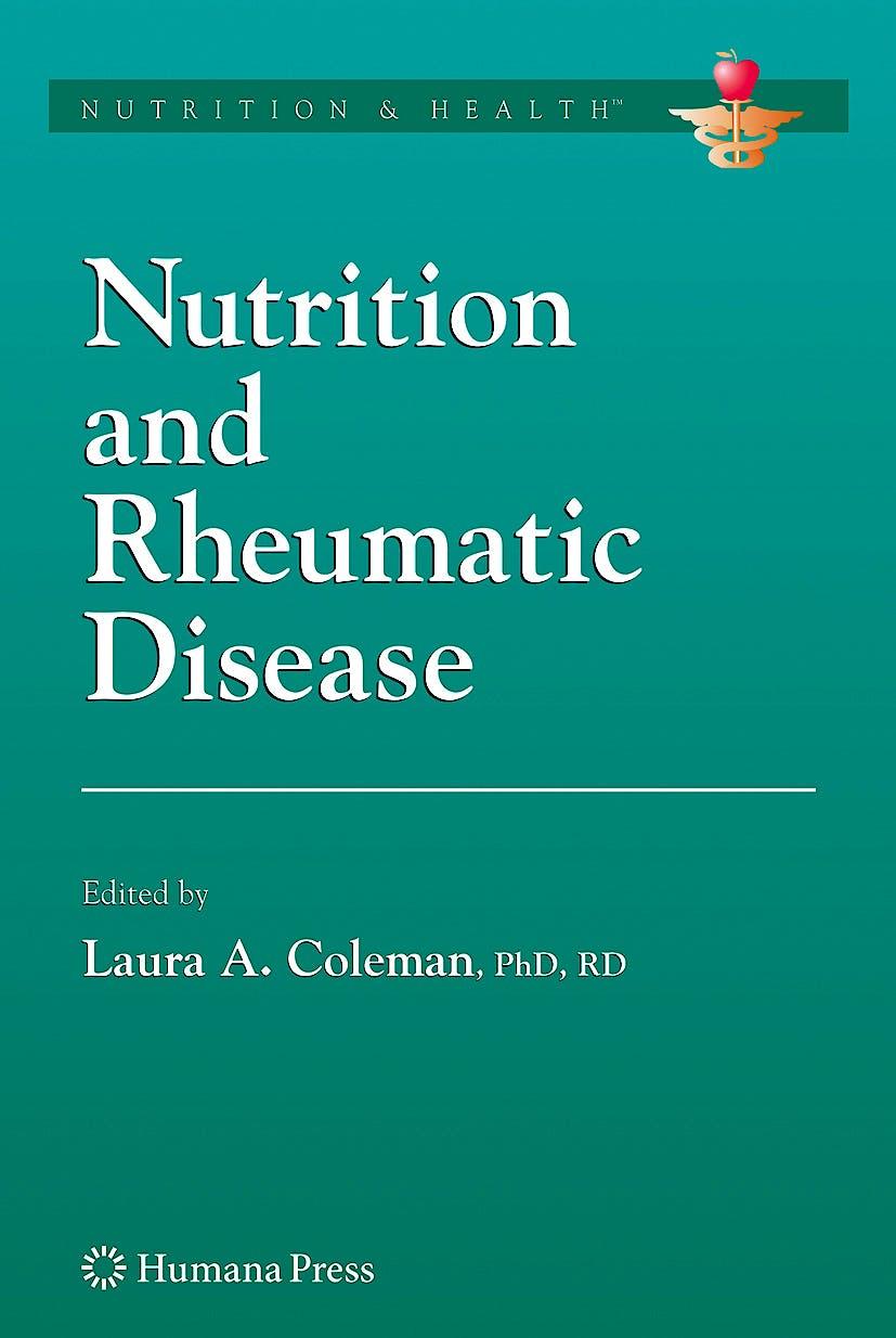 Portada del libro 9781588299765 Nutrition and Rheumatic Disease