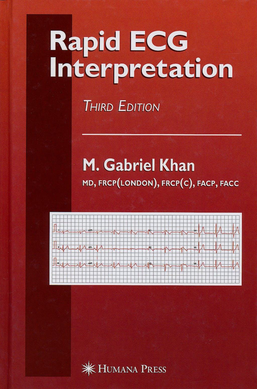 Portada del libro 9781588299796 Rapid Ecg Interpretation