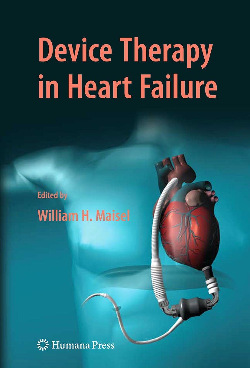Portada del libro 9781588299949 Device Therapy in Heart Failure