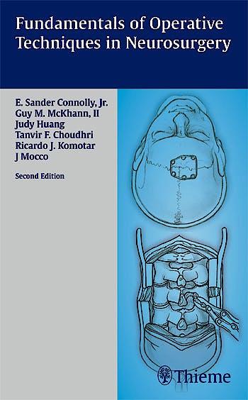 Portada del libro 9781588905000 Fundamentals of Operative Techniques in Neurosurgery