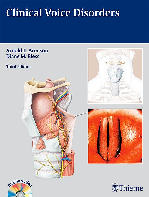 Portada del libro 9781588906625 Clinical Voice Disorders