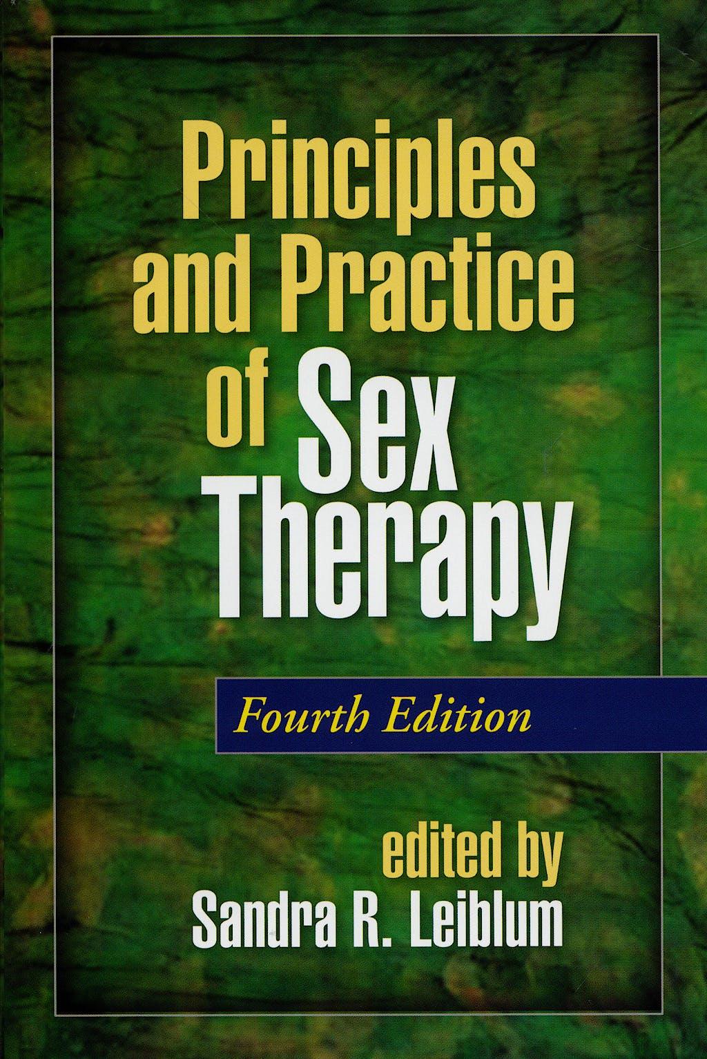 Portada del libro 9781593853495 Principles and Practice of Sex Therapy