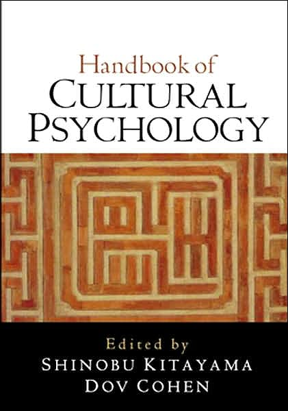 Portada del libro 9781593854447 Handbook of Cultural Psychology