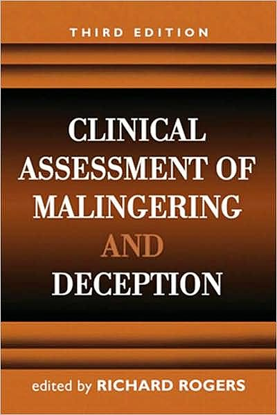 Portada del libro 9781593856991 Clinical Assessment of Malingering and Deception