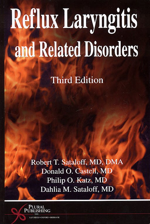 Portada del libro 9781597560061 Reflux Laryngitis and Related Disorders