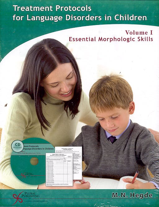 Portada del libro 9781597560191 Treatment Protocols for Language Disorders in Children, Vol. I: Essential Morphologic Skills + Cd