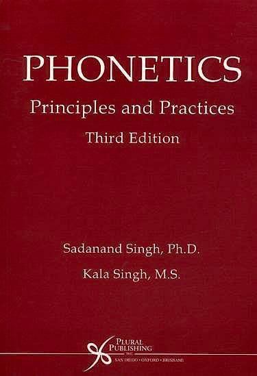 Portada del libro 9781597560207 Phonetics. Principles and Practices