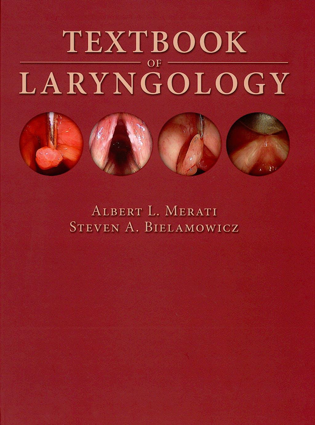 Portada del libro 9781597560283 Textbook of Laryngology
