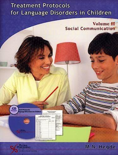 Portada del libro 9781597560443 Treatment Protocols for Language Disorders in Children, Vol. Ii: Social Communication + Cd