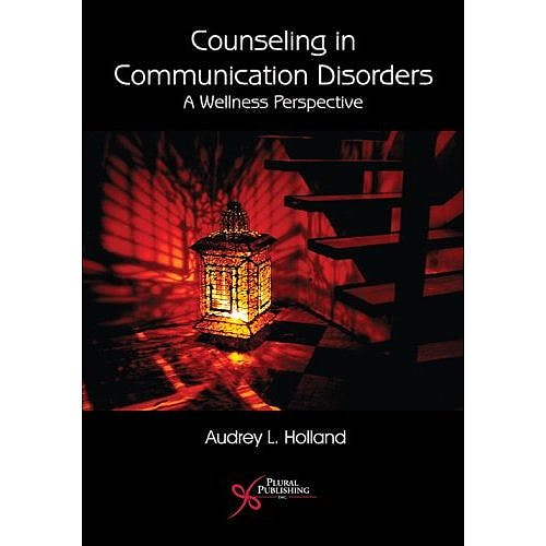 Portada del libro 9781597560498 Counseling in Communication Disorders. a Wellness Perspective