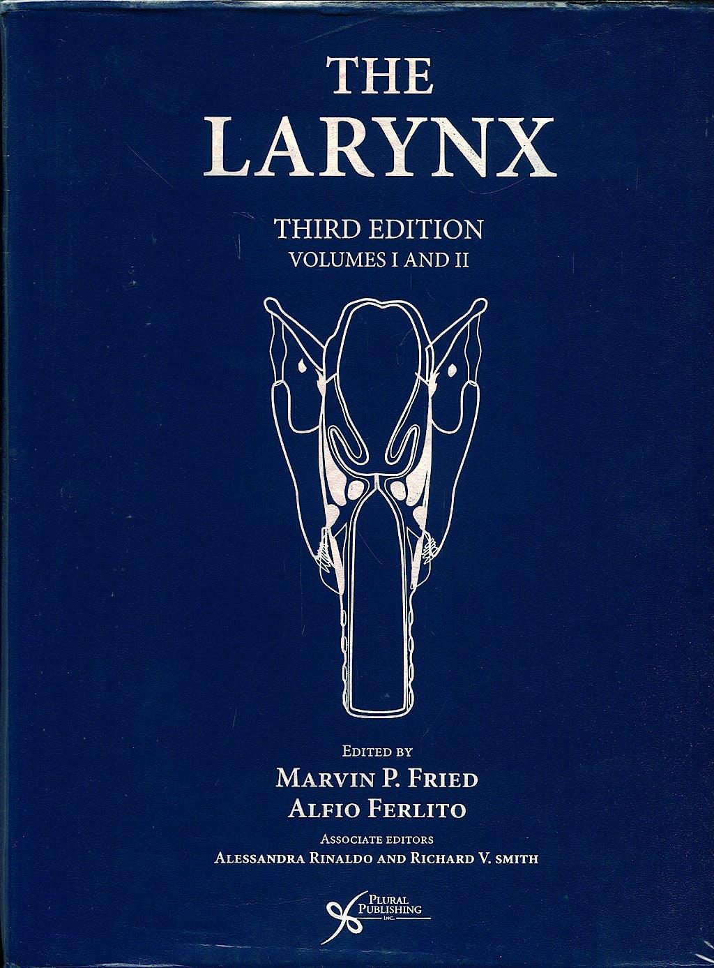 Portada del libro 9781597560627 The Larynx, 2 Vols.