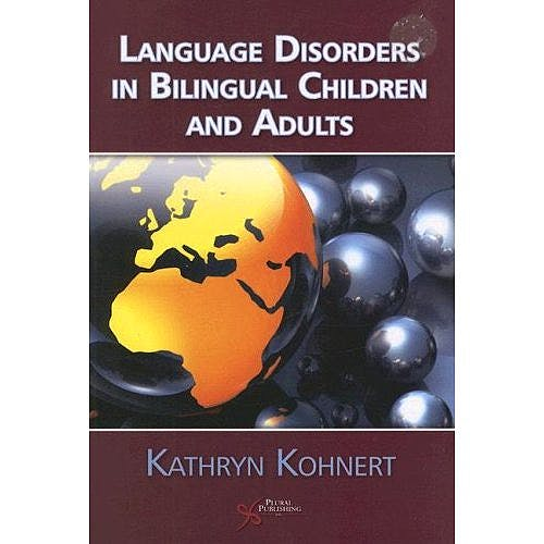 Portada del libro 9781597560764 Language Disorders in Bilingual Children and Adults